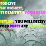 To forgive is the highest