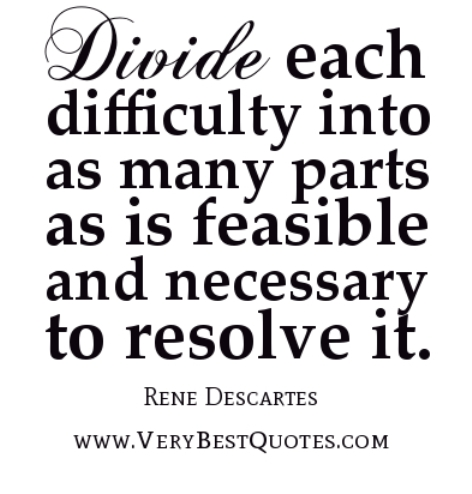 Divide each difficulty