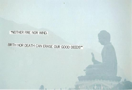 Buddhist Quotes On Death Impressive Neither Fire Nor Wind Birth Nor Death Can Erase Our Good Deeds