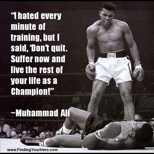 Delicieux Muhammad Ali Quotes (Images)