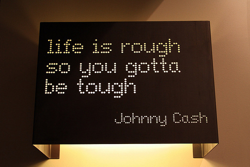 life is rough quotes