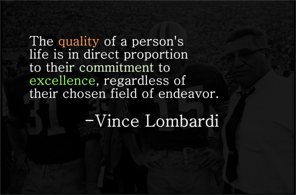 Vince Lombardi Quotes Images