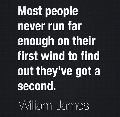 Most People Never Run Far Enough On Their First Wind To Find