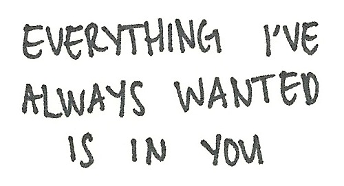 you were everything i wanted
