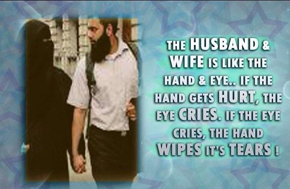 The Husband & Wife Is Like The Hand & Eye.. If The Hand
