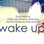 If You Wanr To Make Your Dreams Come True