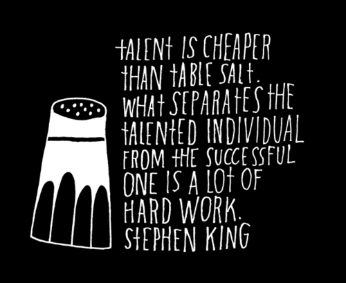 Talent in cheaper than table salt. What separates the ...