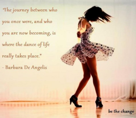 The Journey Of Life Quotes Enchanting The Journey Between Who You Once Were  And Who You