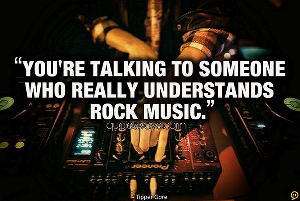 you 39 re talking to someone who really understands rock
