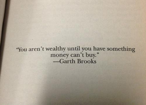 You aren't wealthy