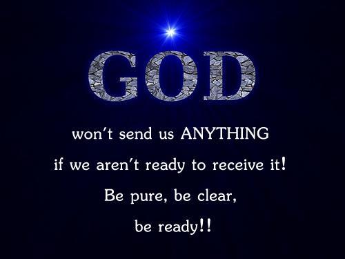 Ready for god