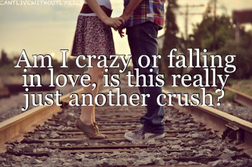 Am i crazy or falling in love, is this really just another ...