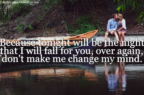 i will fall for you over again