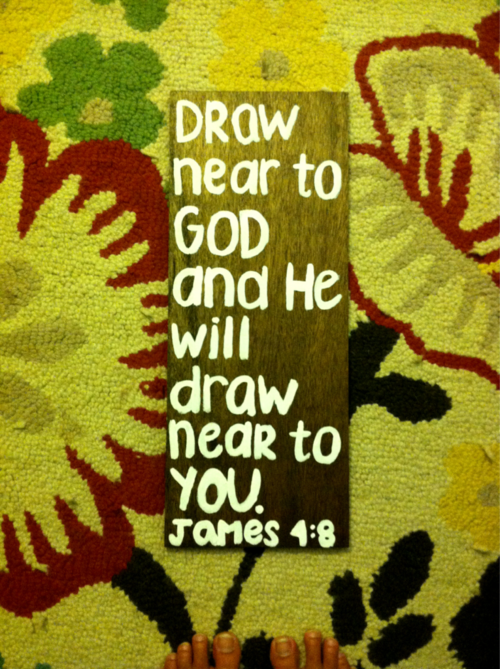 Draw Near To God And He Will Draw Near To You Unknown Picture
