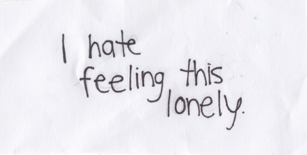 I hate feeling this lonely.   Unknown Picture Quotes ...