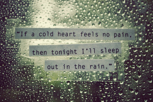 Literary Quotes About Rain