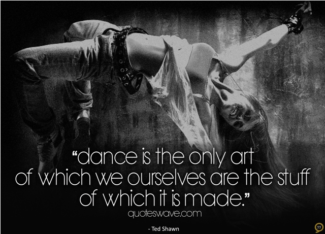 Famous Dance Quotes And Sayings