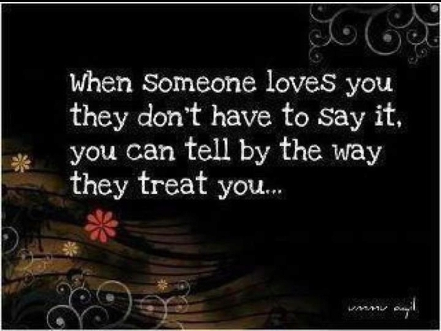 You Love Someone But They Don T Love You Back The Worst: When Someone Loves You They Don't Have To Say It, You Can