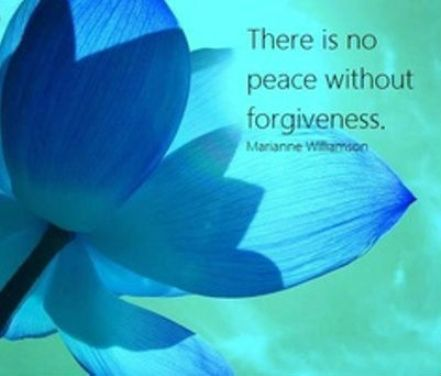 There Is No Peace Without Forgiveness Marianne Williamson Picture