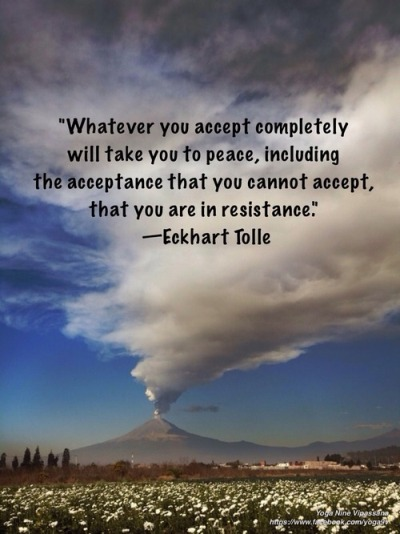 Image result for eckhart tolle quote on peace