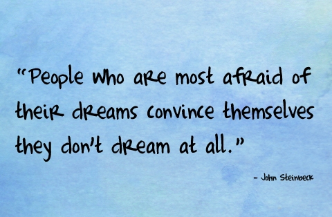 People who are most afraid of their dreams convince ...