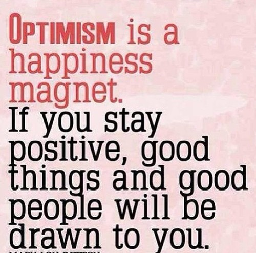 Positive People Quotes Mesmerizing Optimism Is A Happiness Magnetif You Stay Positive Good Things