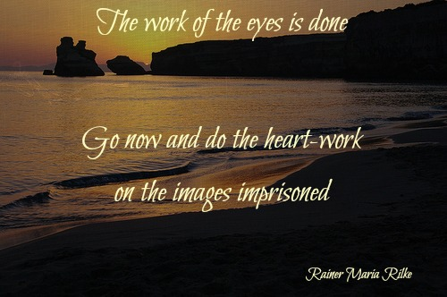 The work of the eyes