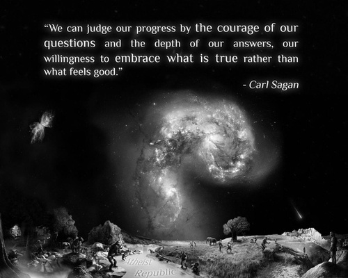 Carl Sagan Love Quote Entrancing The Cosmos Is Within Us We're Made Of Star Stuffwe Are A